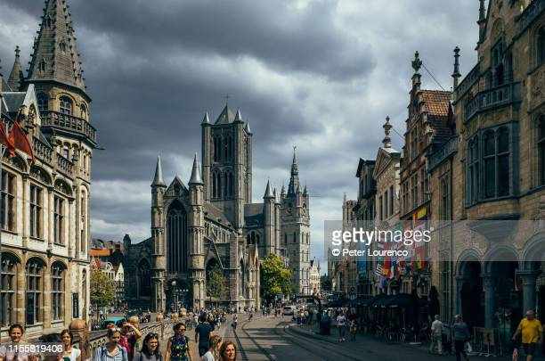 ghent, belgium - peter lourenco stock pictures, royalty-free photos & images