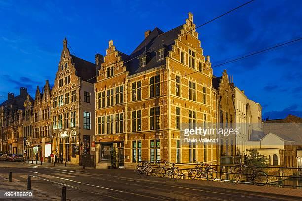 ghent, bélgica - flandres oriental imagens e fotografias de stock