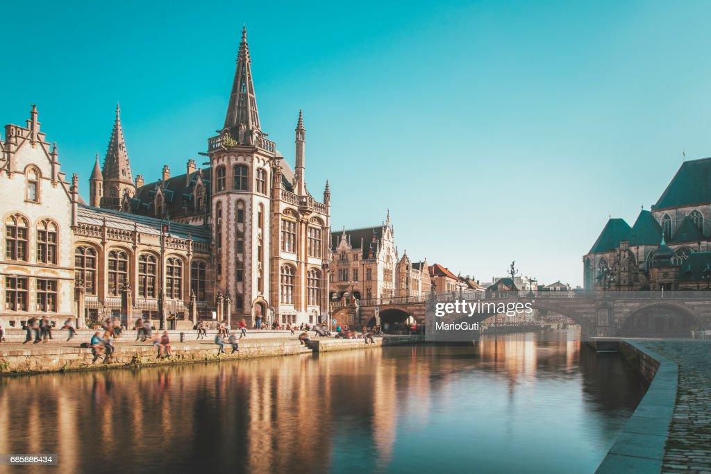 ゲント, ベルギー : ストックフォト