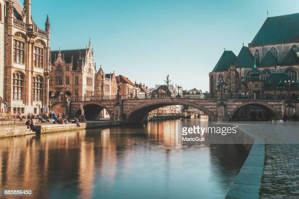 ghent, belgium - belgium stock pictures, royalty-free photos & images