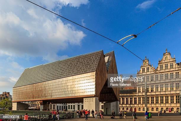 ghent, city pavilion - belgium - pavilion stock photos and pictures