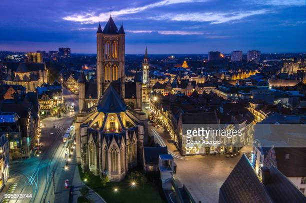Ghent from top