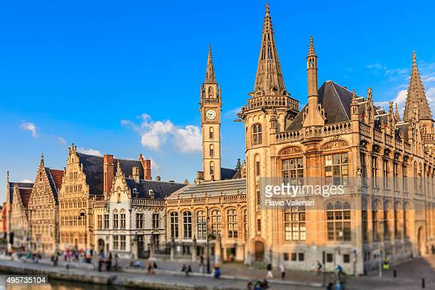 Ghent - The Graslei, Belgium