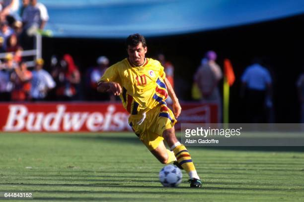 Gheorghe Hagi Roumanie / Colombie Coupe du Monde 1994 Photo Alain Gadoffre / Icon Sport