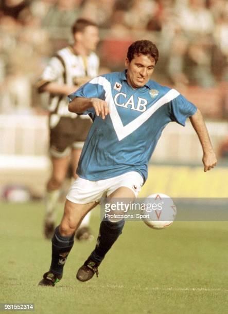 Gheorghe Hagi of Brescia Calcio in action circa 1994