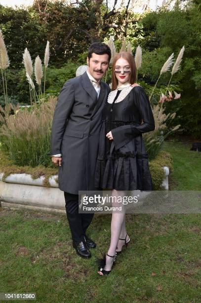 Gherardo Felloni attends the Roger Vivier Presentation Spring/Summer 2019 during Paris Fashion Week on September 27 2018 in Paris France