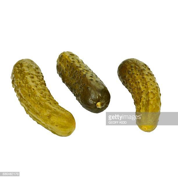 gherkins - pickled stock pictures, royalty-free photos & images