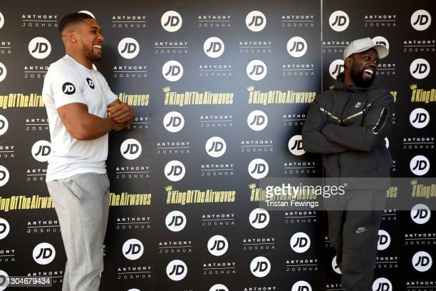 Ghetts attends as JD's Anthony Joshua hosts his #KingOfTheAirwaves radio show live on TikTok with a host of special guests including Munya Chawawa,...