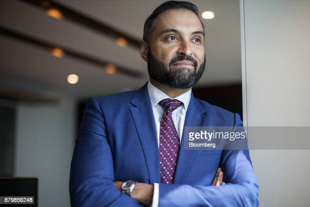 Ghias Khan chief executive officer of Engro Corp poses for a photograph after an interview in Karachi Pakistan on Wednesday Nov 22 2017 As Pakistan...