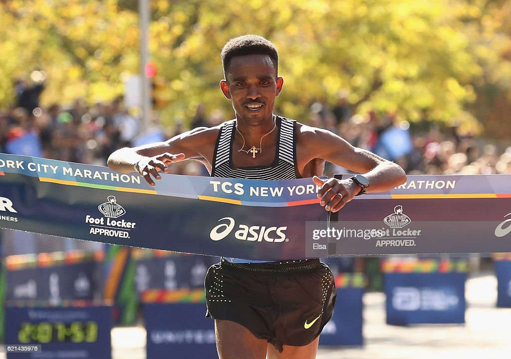2016 TCS New York City Marathon : News Photo