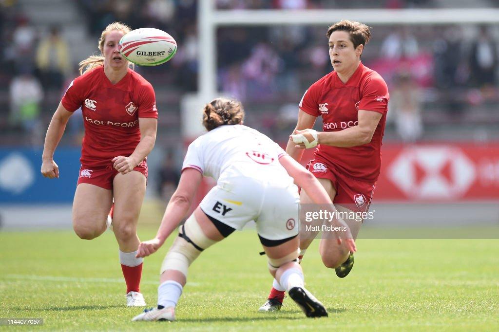 HSBC Women's Rugby Sevens Kitakyushu - Day 2 : News Photo