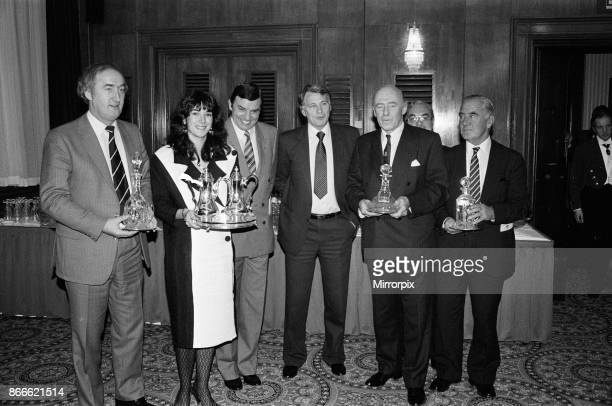 Ghislaine Maxwell a Director of Oxford United Football Club received the Fiat Team of the Year Award from Bobby Robson at a special luncheon held at...