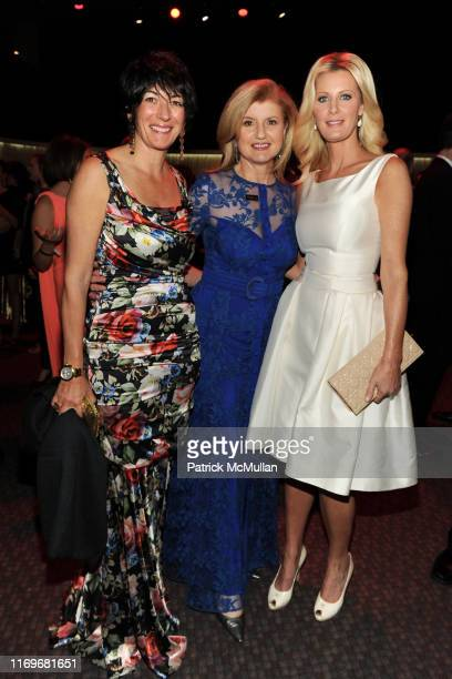 Ghislaine Maxwell Arianna Huffington and Sandra Lee attend TIME 100 GALA TIME'S 100 MOST INFLUENTIAL PEOPLE IN THE WORLD at Jazz at Lincoln Center on...