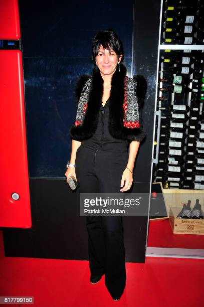 Ghislaine Maxwell attends BAR BASQUE arrival celebration at Eventi Hotel NYC on October 8 2010 in New York City