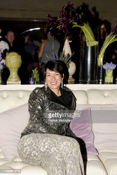 Ghislaine Maxwell attends BERGDORF GOODMAN Celebrates its 111th Anniversary at The Plaza Hotel on October 18 2012 in New York City