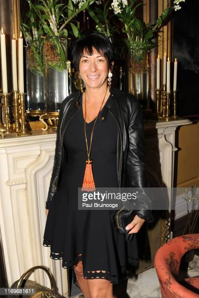 Ghislaine Maxwell attends BREAKFAST WITH LUCIAN by Geordie Greig at Private Residence on October 21 2013 in New York City