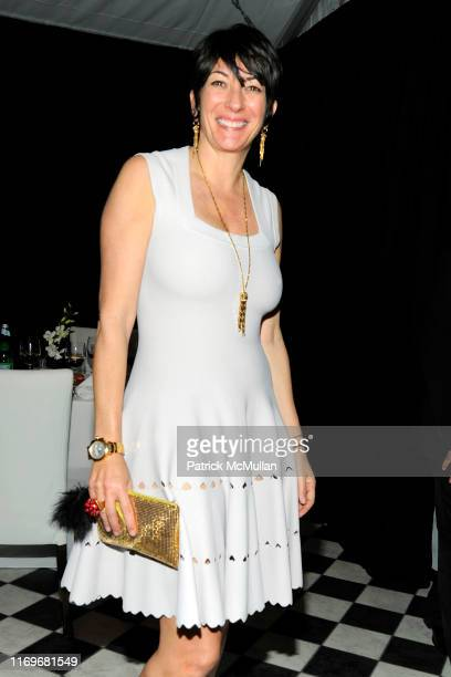 Ghislaine Maxwell attends Ed Ruscha PSYCHO SPAGHETTI WESTERNS Opening Dinner at Mr Chow on February 24 2011 in Beverly Hills CA