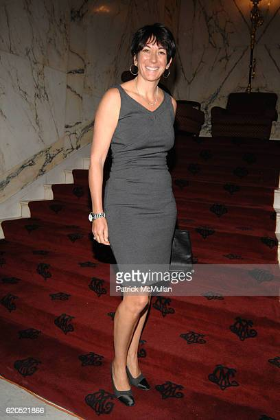 Ghislaine Maxwell attends Madison Square Boys Girls Club Purses Pursenalities Luncheon at The Metropolitan Club on September 23 2008 in New York City