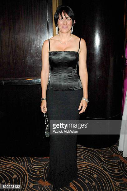 Ghislaine Maxwell attends NEW YORKERS FOR CHILDREN Spring Gala A Fool's Fete Presented By MISSONI at Mandarin Oriental on April 16 2008 in New York...