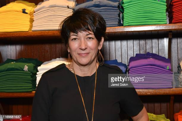 Ghislaine Maxwell attends Polo Ralph Lauren host Victories of Athlete Ally at Polo Ralph Lauren Store on November 3 2015 in New York City