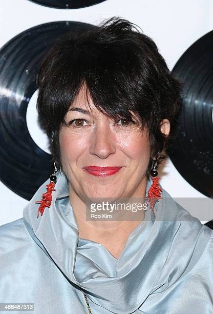 Ghislaine Maxwell attends the 2014 ETM Children's Benefit Gala at Capitale on May 6 2014 in New York City