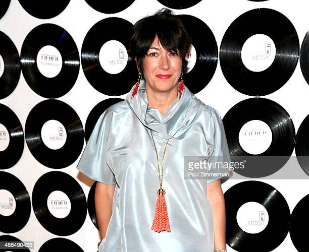 Ghislaine Maxwell attends the ETM 2014 Children's Benefit Gala at Capitale on May 6 2014 in New York City