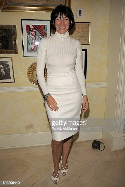 Ghislaine Maxwell attends TINA BROWN VICKY WARD and LA MER host a party honoring SUSAN NAGEL'S new book Marie Therese at Tina Brown and Harry Evans...