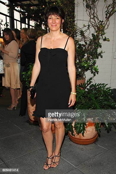 Ghislaine Maxwell attends TOMMY HILFIGER Elizabeth Saltzman Alexis Bryan VANITY FAIR present GRACE KELLY A Life in Pictures at Gramercy Park Hotel on...