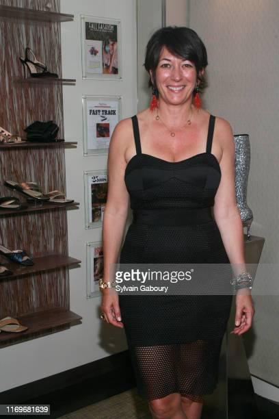 "Ghislaine Maxwell attends Vanessa Noel Hosts Barbara Taylor Bradford's new book ""Cavendon Hall"" at Vanessa Noel on June 5, 2014 in New York City."