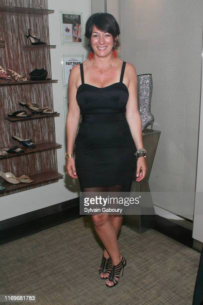 Ghislaine Maxwell attends Vanessa Noel Hosts Barbara Taylor Bradford's new book Cavendon Hall at Vanessa Noel on June 5 2014 in New York City