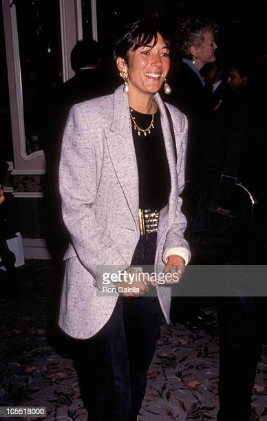 """Ghislaine Maxwell during 10th Anniversary Party Launch for """"Lifestyles of the Rich & Famous"""" Cookbook in New York City, New York, United States."""