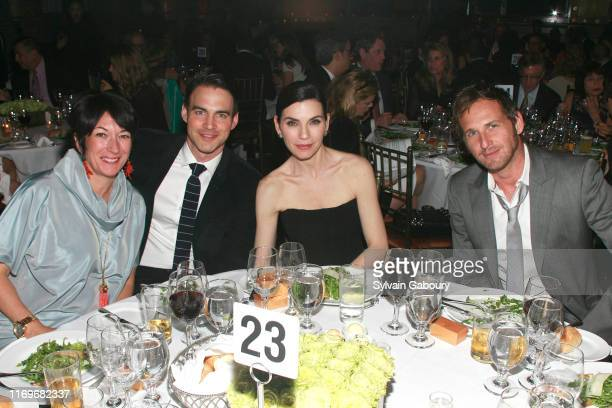 Ghislaine Maxwell Keith Lieberthal Julianna Margulies and Josh Lucas attend EDUCATION THROUGH MUSIC Annual Children's Benefit Gala at Capitale on May...