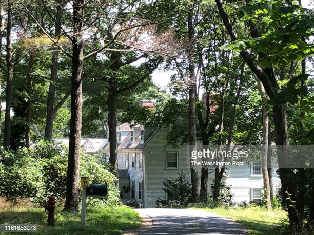 Ghislaine Maxwell lived in this home in ManchesterbytheSea Massachusetts with a friend neighbors said