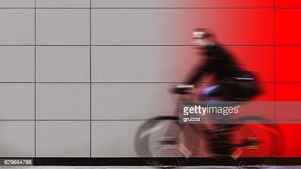 Ghost city biker