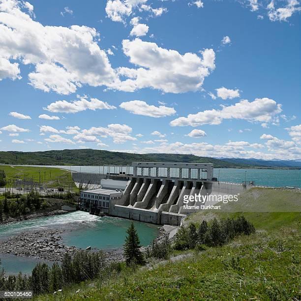 Ghost Dam, Alberta, Canada