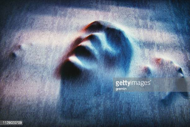 ghost face - anthropomorphic face stock pictures, royalty-free photos & images