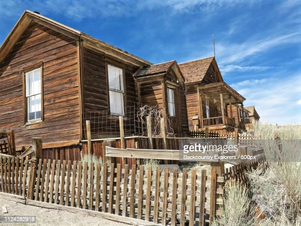Ghost Houses Of Bodie