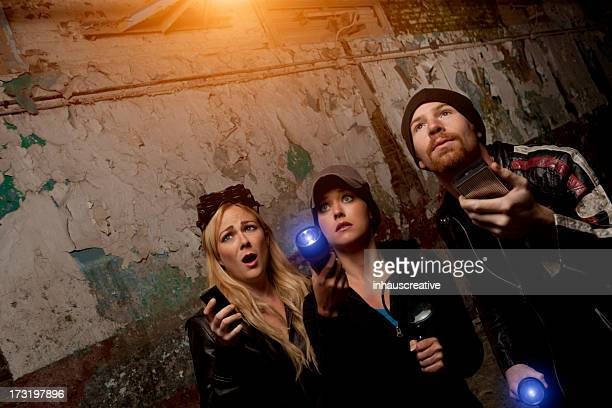 ghost hunters - ghost stock pictures, royalty-free photos & images