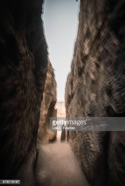 Ghost in Little Petra