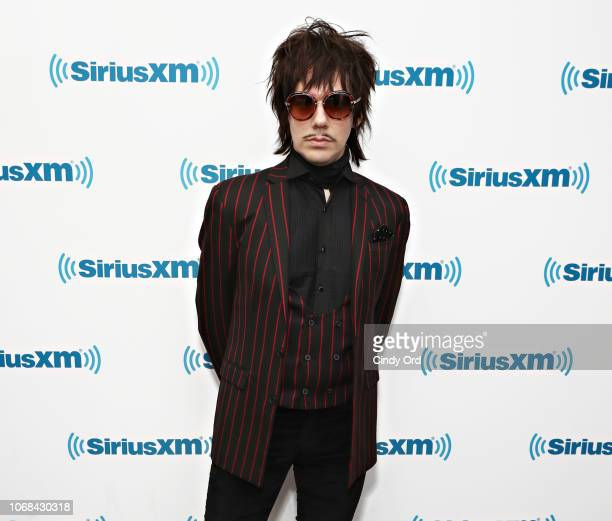 Ghost lead singer Tobias Forge visits the SiriusXM Studios on December 3 2018 in New York City