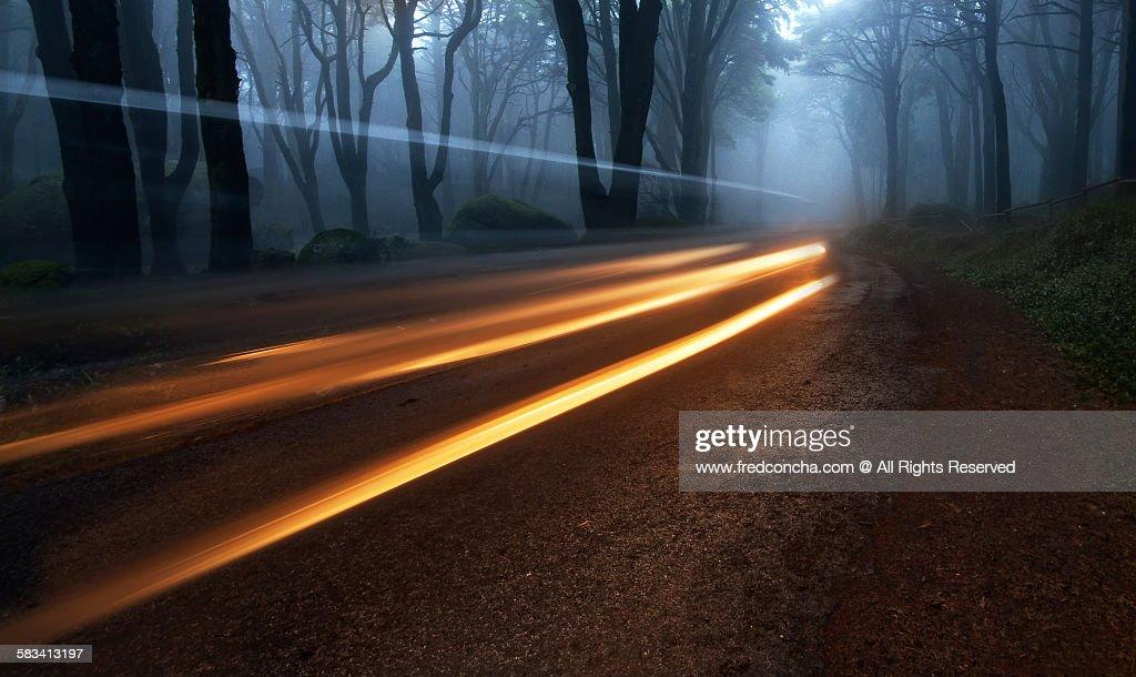 Ghost light : Stock Photo