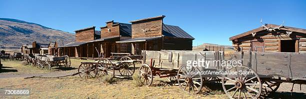 """ghost town, cody, wyoming"" - wild west stock pictures, royalty-free photos & images"