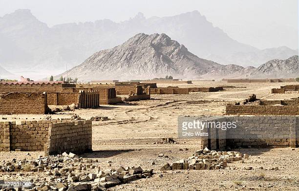 Ghost town in Afghanistan