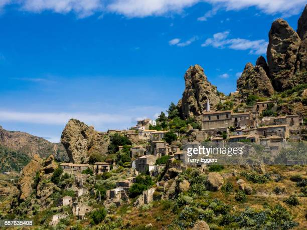 Ghost Town of Pentedattilo, Calabria