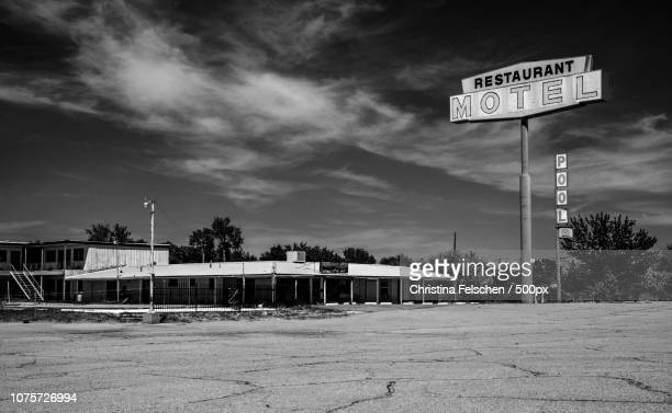 ghost town - christina felschen stock photos and pictures