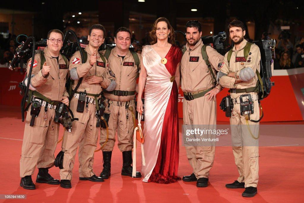 Sigourney Weaver Red Carpet - 13th Rome Film Fest : ニュース写真
