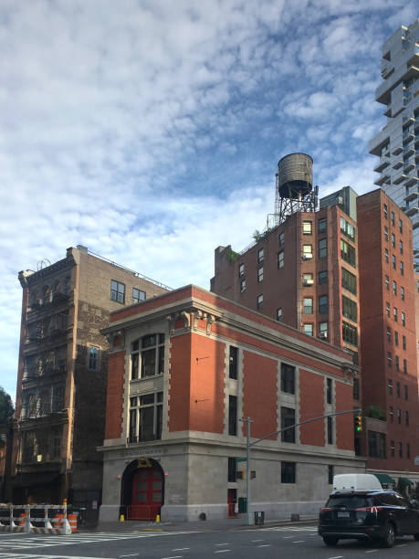 Ghostbusters Firestation in Tribeca Downtown New York