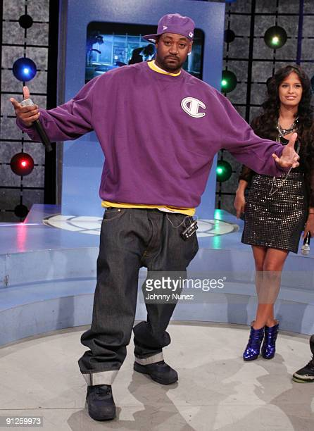 Ghostface and Rocsi on BET's '106 Park' at BET Studios on September 28 2009 in New York City