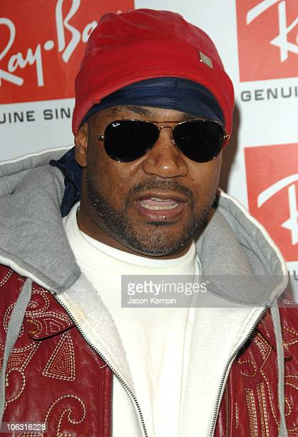 Ghostface Killa during Ray Ban Launches Never Hide March 7 2007 at Guastavinos in New York City New York United States