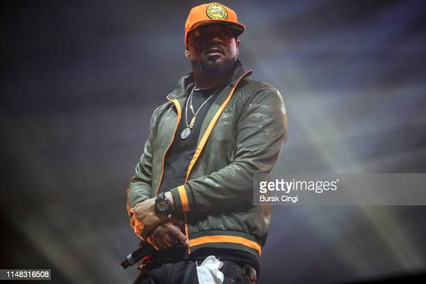 Ghostface Killa of Wu Tang Clan performs on stage at Gods of Rap tour at SSE Arena Wembley on May 10 2019 in London England